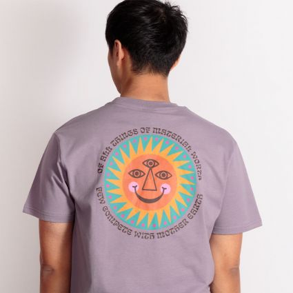 Hikerdelic Mother Earth T-Shirt Lilac