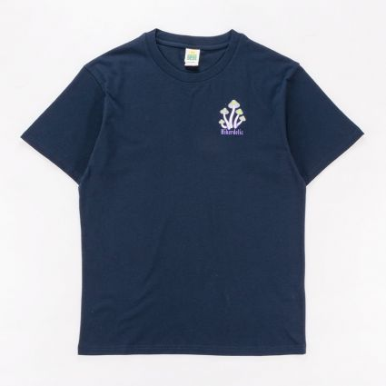 Hikerdelic Wired T-Shirt Navy1