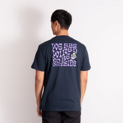 Hikerdelic Wired T-Shirt Navy