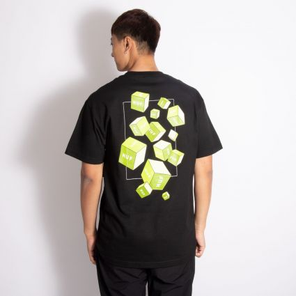 HUF 3D Box S/S T-Shirt Black