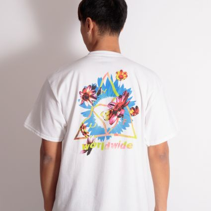 HUF Come Down TT S/S T-Shirt White