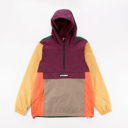 HUF Coyote Trail Anorak Raisin1