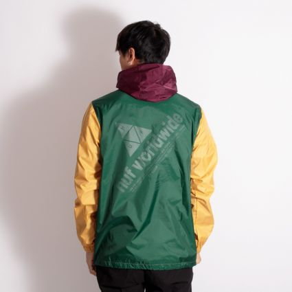 HUF Coyote Trail Anorak Raisin