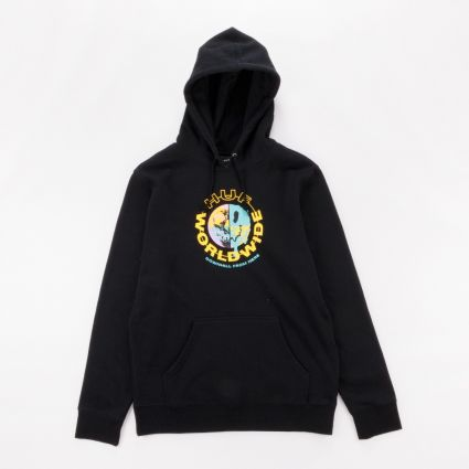 HUF Oxy Pullover Hoodie Black1