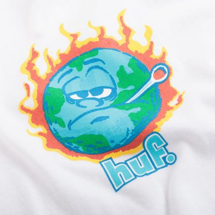 HUF Sick Sad World S/S T-Shirt White