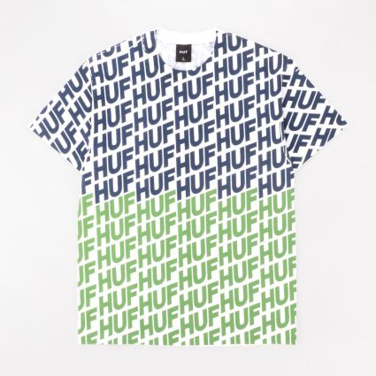HUF Wave S/S Tee Hot Lime