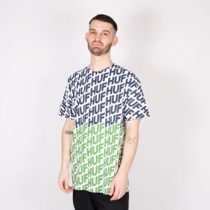 HUF Wave S/S T-Shirt Hot Lime