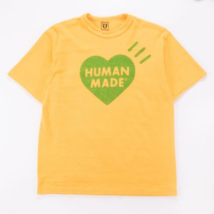 Human Made HM19CS021 COLOR T-SHIRT #2 YELLOW1