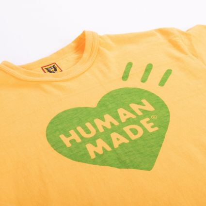 Human Made Color T-Shirt #2 Yellow
