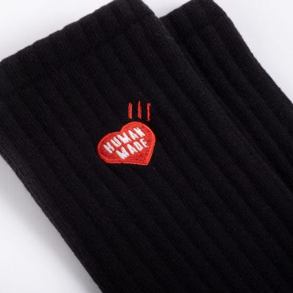 Human Made Pile Socks Black