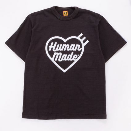 Human Made HM19TE007 T-SHIRT #1907 BLACK1