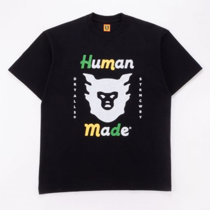 Human Made HM19TE021 T-SHIRT #1921 BLACK1