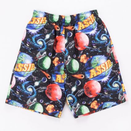 Assid Bad World Short Black/Multi