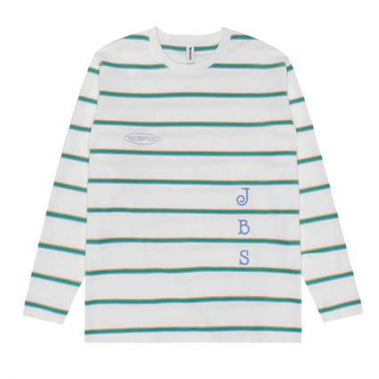 Reception x JBS Long Sleeve Rugby Tee Double Jersey Multi Color