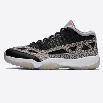 Nike Air Jordan 11 Retro Low IE Black/Fire Red/Cement 919712-006