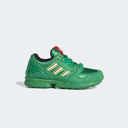 Adidas x Lego ZX 8000 J Green/Ftwr White/EQT Yellow GZ8208