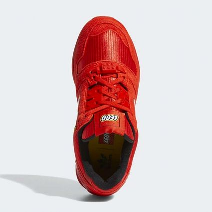 Adidas x Lego ZX 8000 J Active Red/Ftwr White/Active Red GZ8214