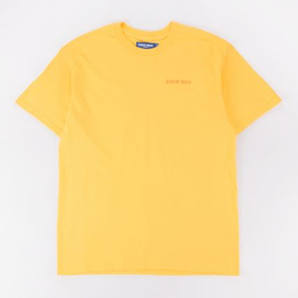 Know Wave Anxiety Logo Tee Yellow