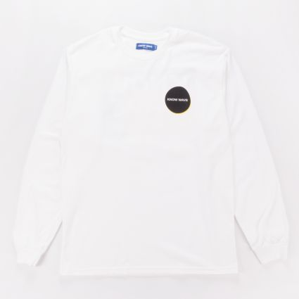 Know Wave Chopped & Screwed LS Tee White