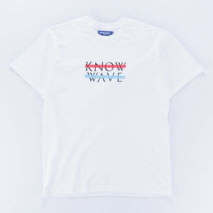 Know Wave Classic Wavelength Tee White