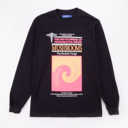Know Wave Encyclopedia L/S Tee Black1