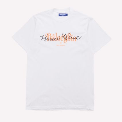 Know Wave Psilocybin Tee White1