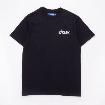 Know Wave Signature Tee Black1