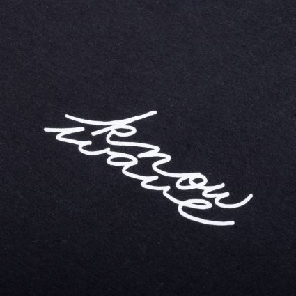 Know Wave Signature T-Shirt Black