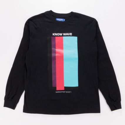 Know Wave Volume Issue LS Tee Black