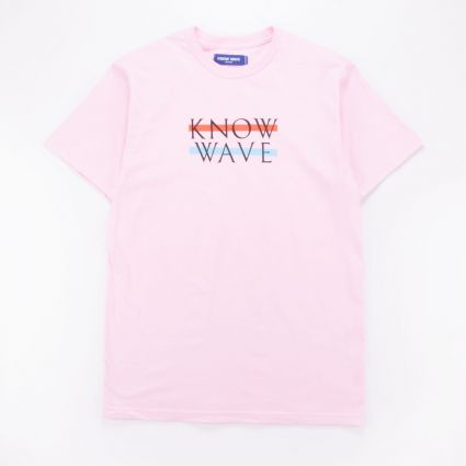 Know Wave Wavelength Tee Pink1