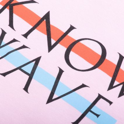 Know Wave Wavelength T-Shirt Pink