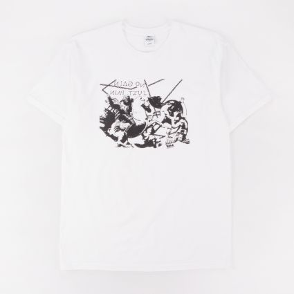 L.I.E.S. All Pain Tee White