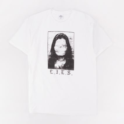 L.I.E.S. No Face Tee White