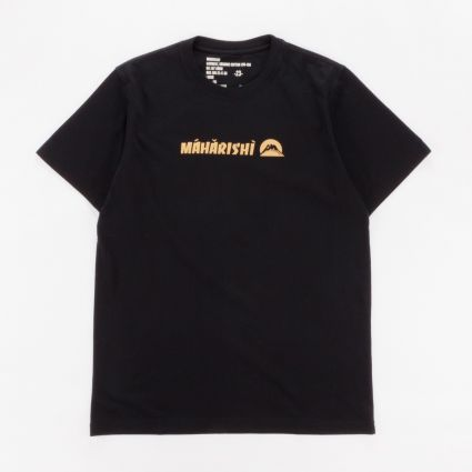 Maharishi 9406 Gold Tailor T-Shirt Black1