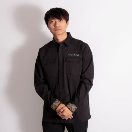Maharishi Liberty Dragon Mil Shirt Black