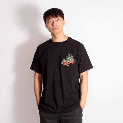 Maharishi Liberty Dragon Organic T-Shirt Black
