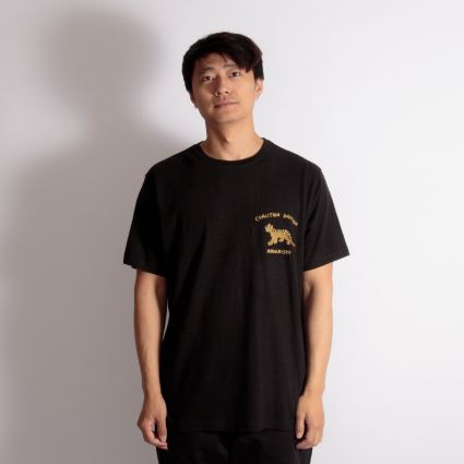 Maharishi Story Cloth Organic Hemp T-Shirt Black