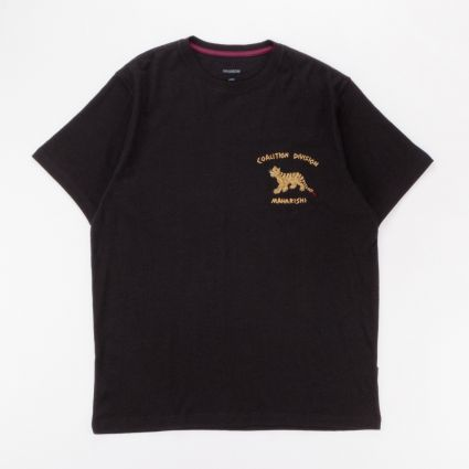 Maharishi Story Cloth Organic Hemp T-Shirt Black1