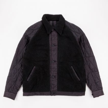 Maharishi Upcycled Grizzly Jacket Vintage Black1