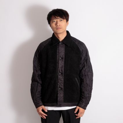 Maharishi Upcycled Grizzly Jacket Vintage Black