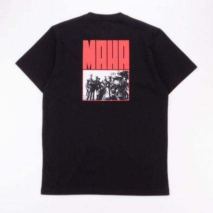 Maharishi World Corps Organic T-Shirt Black