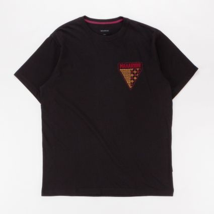 Maharishi World Tribe Organic T-Shirt Black1