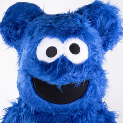 Medicom Bearbrick Cookie Monster Costume ver. 1000%