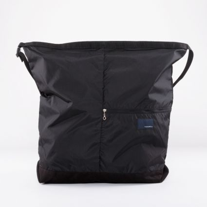Nanamica Nanamican Utility Shoulder Bag L Black1