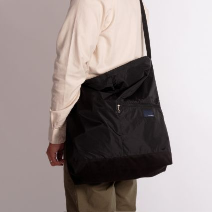 Nanamica Nanamican Utility Shoulder Bag L Black