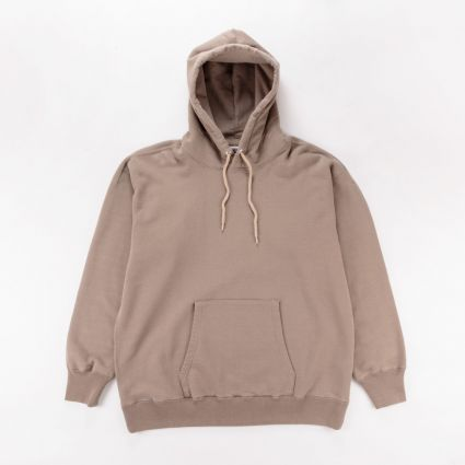 Nanamica Pullover Hoodie Light Brown1