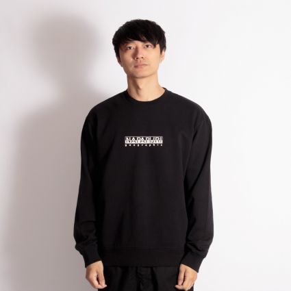 Napapijri Box Crewneck Sweatshirt Black