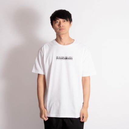 Napapijri Box Short Sleeve T-Shirt Bright White