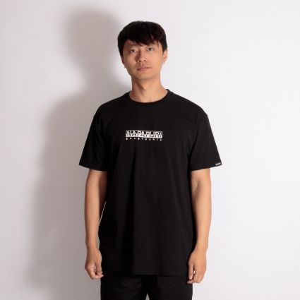 Napapijri Box T-Shirt Black