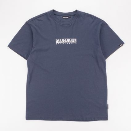 Napapijri Box T-Shirt Blue Nights1